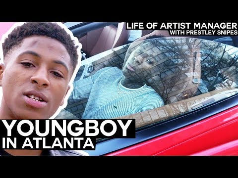Life of Artist Manager: NBA Youngboy In Atlanta