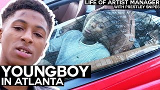 NBA Youngboy In Atlanta [Life of Artist Manager]
