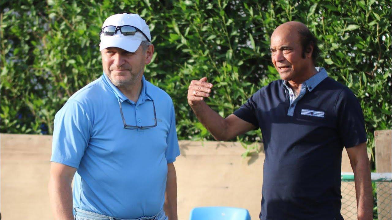 زيارة مدرب المنتخب الأولمبي (ميروسلاف سوكوب) إلى ناديي الطلبة والزوراء للاطلاع على البنى التحتية