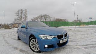 Тест драйв BMW 320d 2015 Xdrive F30 Рестайлинг (190 л.с. 400 Nm) + ЗАМЕР РАЗГОНА 0-100