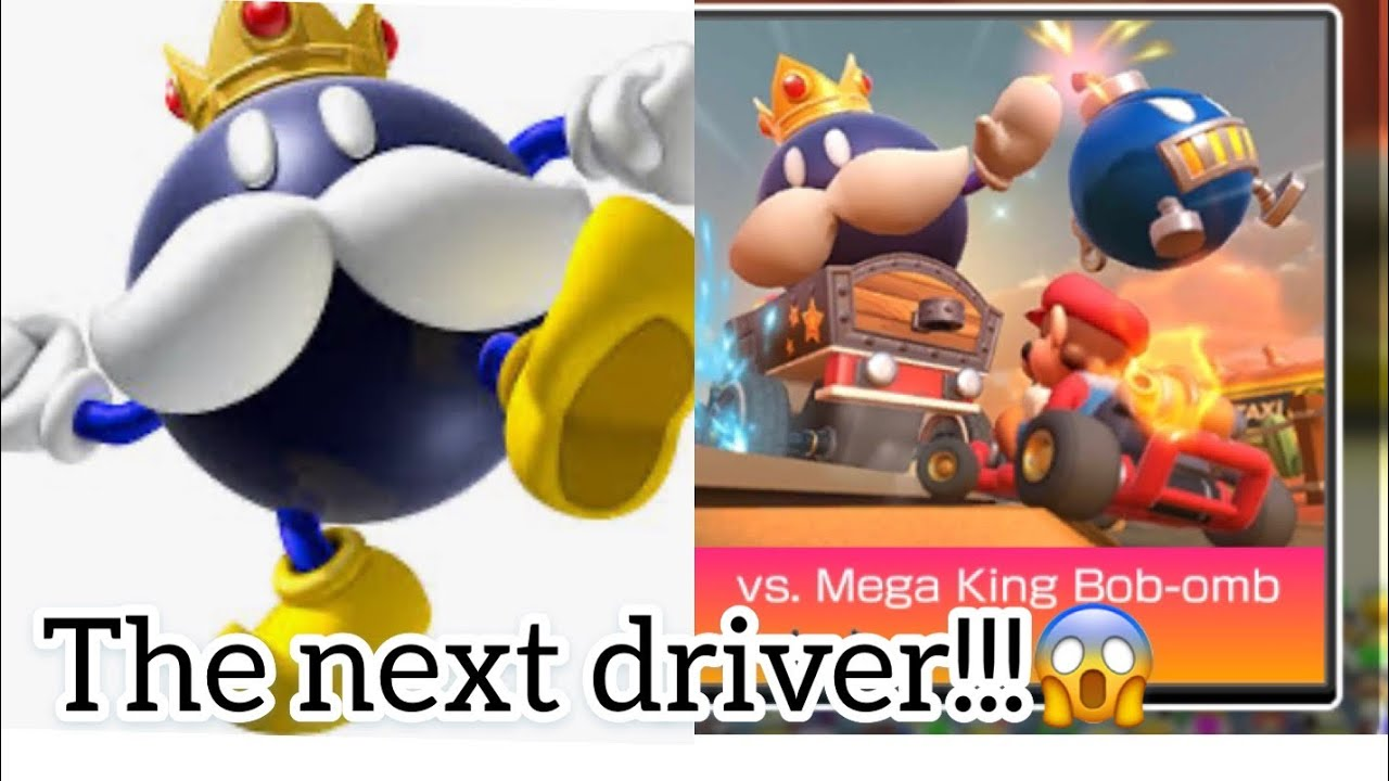 Mario Kart Wild West Tour New Driver King Bomb Bomb Boss Battle Is He The Next Driver Youtube
