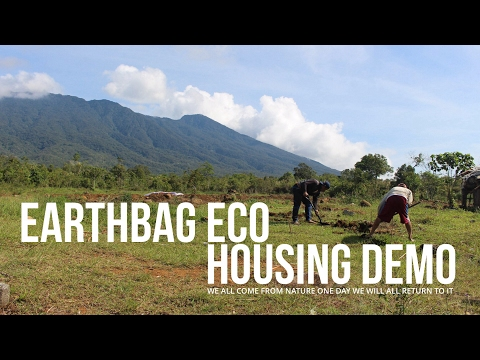 Earthbag eco house: The breathtaking build site before ground breaking