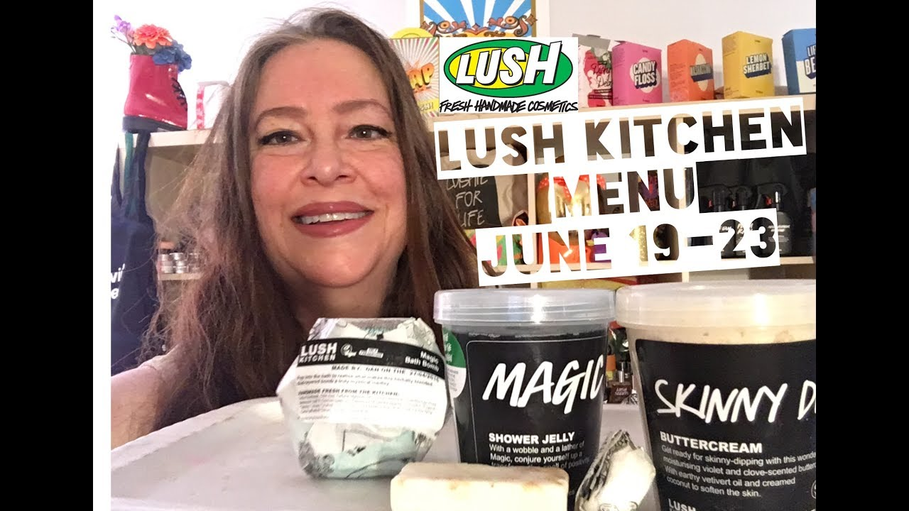 Lush Kitchen Menu June 19-23 - YouTube
