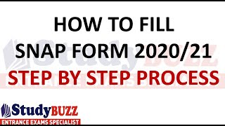 SNAP 2020 registration starts: How to fill SNAP application form 2020? Step by step guide
