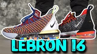 "Nike Lebron 16 WHAT THE ""1 Thru 5"" First Impressions!"