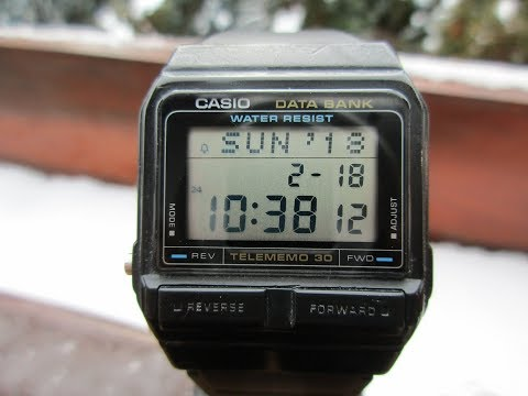 Casio DATA BANK DB-31 - Video & Photos
