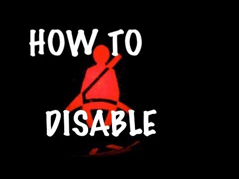 FORD Seatbelt Alarm Disable 1999 - 2004 - YouTube