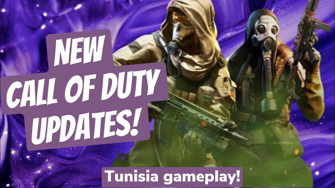 NEW Call Of Duty Updates! Tunisia Gameplay!