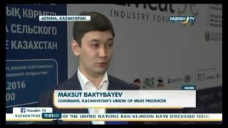 МСХ РК: Казахстанские производители мяса должны заместить импорт России и Китая - KazakhTV(, 2016-03-16T11:15:26.000Z)