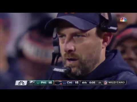 Big Mike - Eagles Spanish Announcer When Bears Kicker Missed!