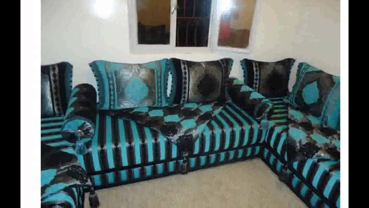 salon marocain moderne youtube. Black Bedroom Furniture Sets. Home Design Ideas