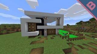 How to make a modern house.