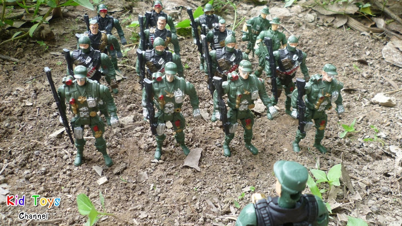 figures action Army men