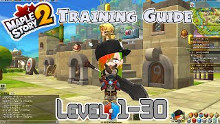 MapleStory 2! Leveling Guide for Levels 1 to 30!