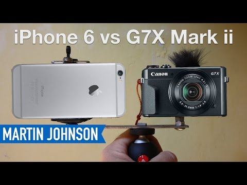 Canon G7X Mark ii vs iPhone 6 | Best Camera for Youtube?