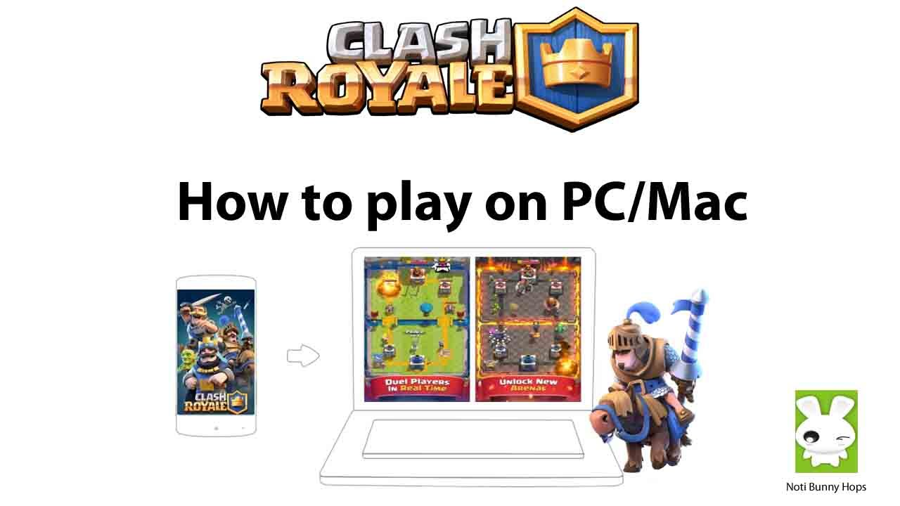 How to download clash royale on mac