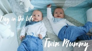 Day In The Life - SAHM of Baby Twins | VLOG
