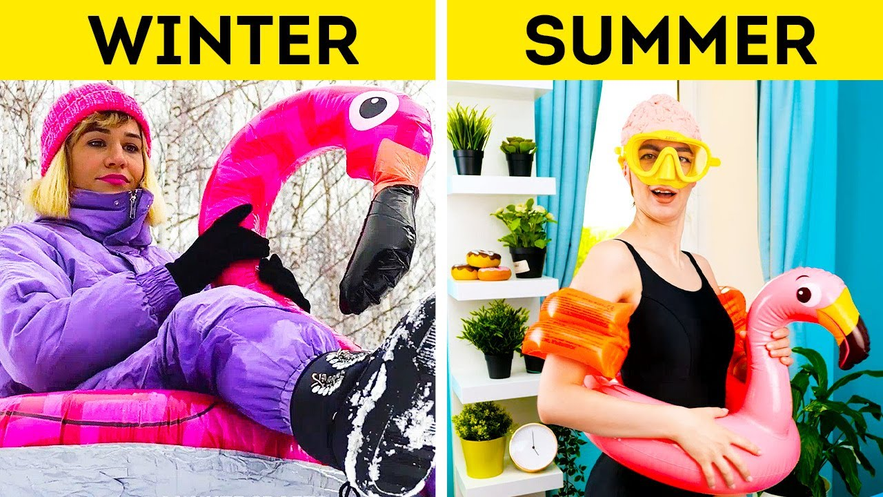 Smart Hacks to Make Your Life Easy On Hot Days || Picnic Ideas For a Perfect Summer Escape!