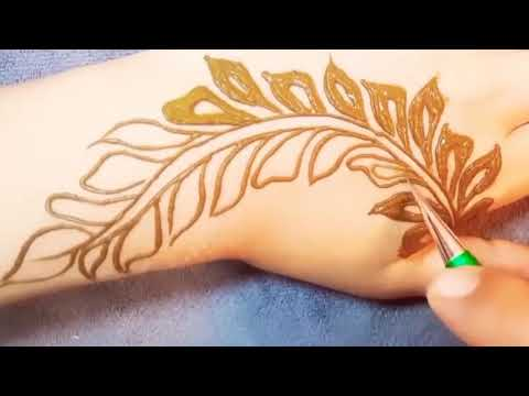 Beautiful and amazing mehndi design tutorial thumbnail
