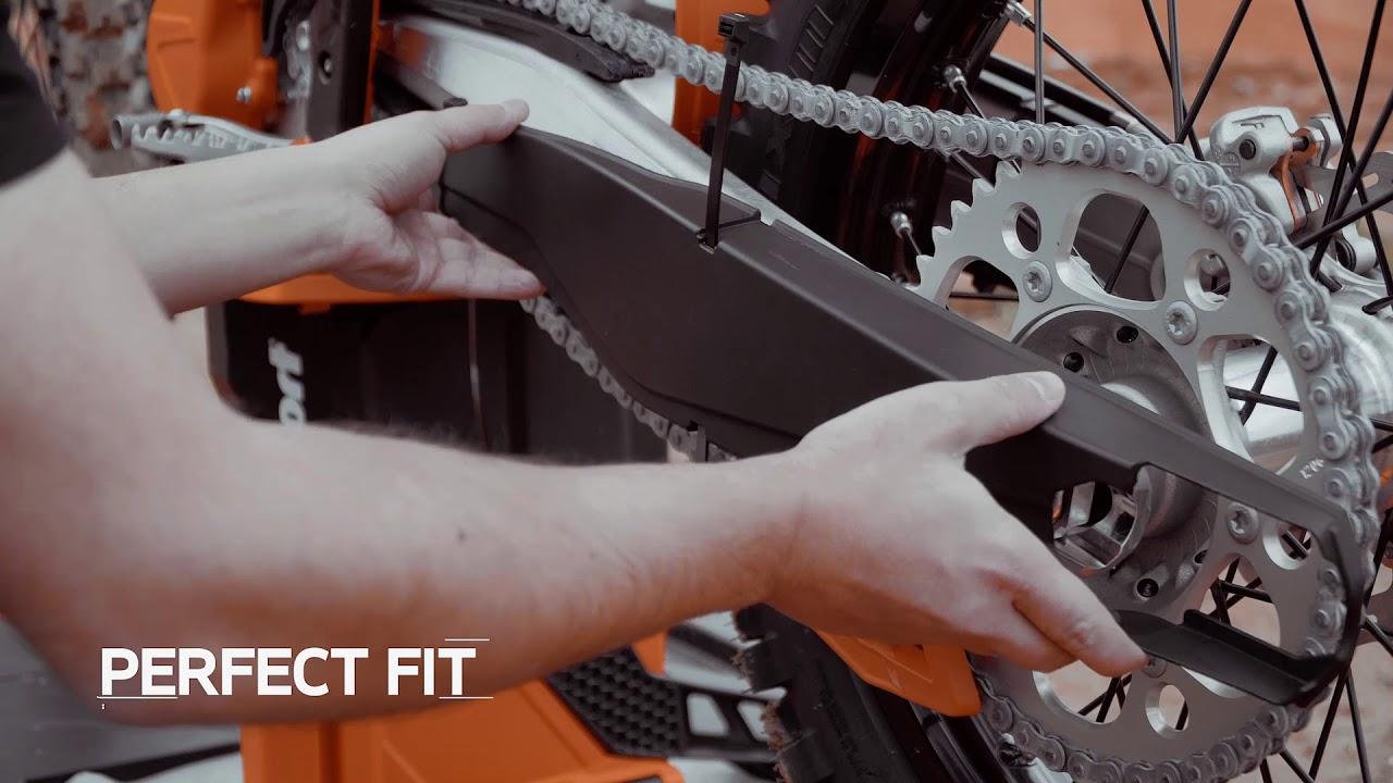 Polisport Swingarm Swing Arm Protector Black For Yamaha YZ 250F YZF 250 2019