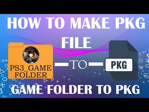 How to convert PS3 Game to PKG File - Any PS3 Phat, Slim and