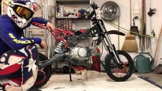 projet dirt #5 : avoir une dirt (neuve) pas cher / montage du moteur neuf + faisceau electrique