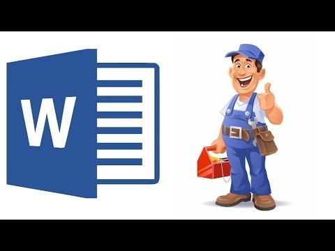 Как восстановить doc файл