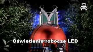 Opryskiwacz sadowniczy AGROLA TURBO + oświetlenie LED (Orchard spraying)