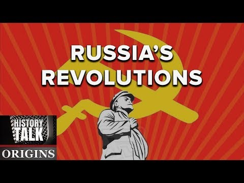 From Romanovs to Reds: Russia's revolutions at 100 (a History Talk Podcast)