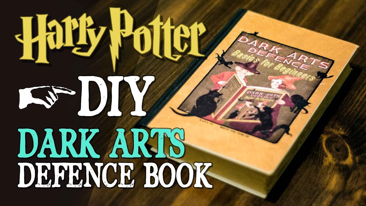 Diy Dark Arts Defence Book Youtube