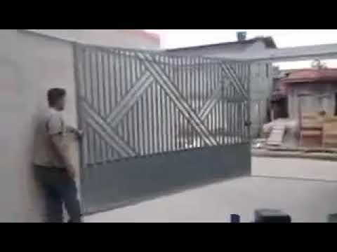 Pintu Pagar Garasi Minimalis Yang Simple