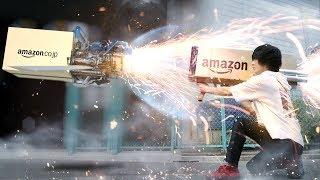 クッソ速くアマゾンの荷物を届ける方法思いついたから採用してくれ!!【RATE先生 】Amazon Ultra Prime thumbnail