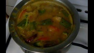 Caverry Amma & Vidya Recipe - Arachuvitta Sambar