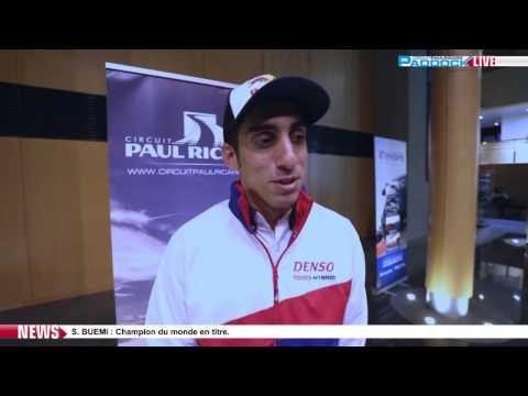 Paddock LIVE - Interview Sébastien Buemi -