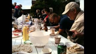 På brygga en sommerkveld i Bølingshavn