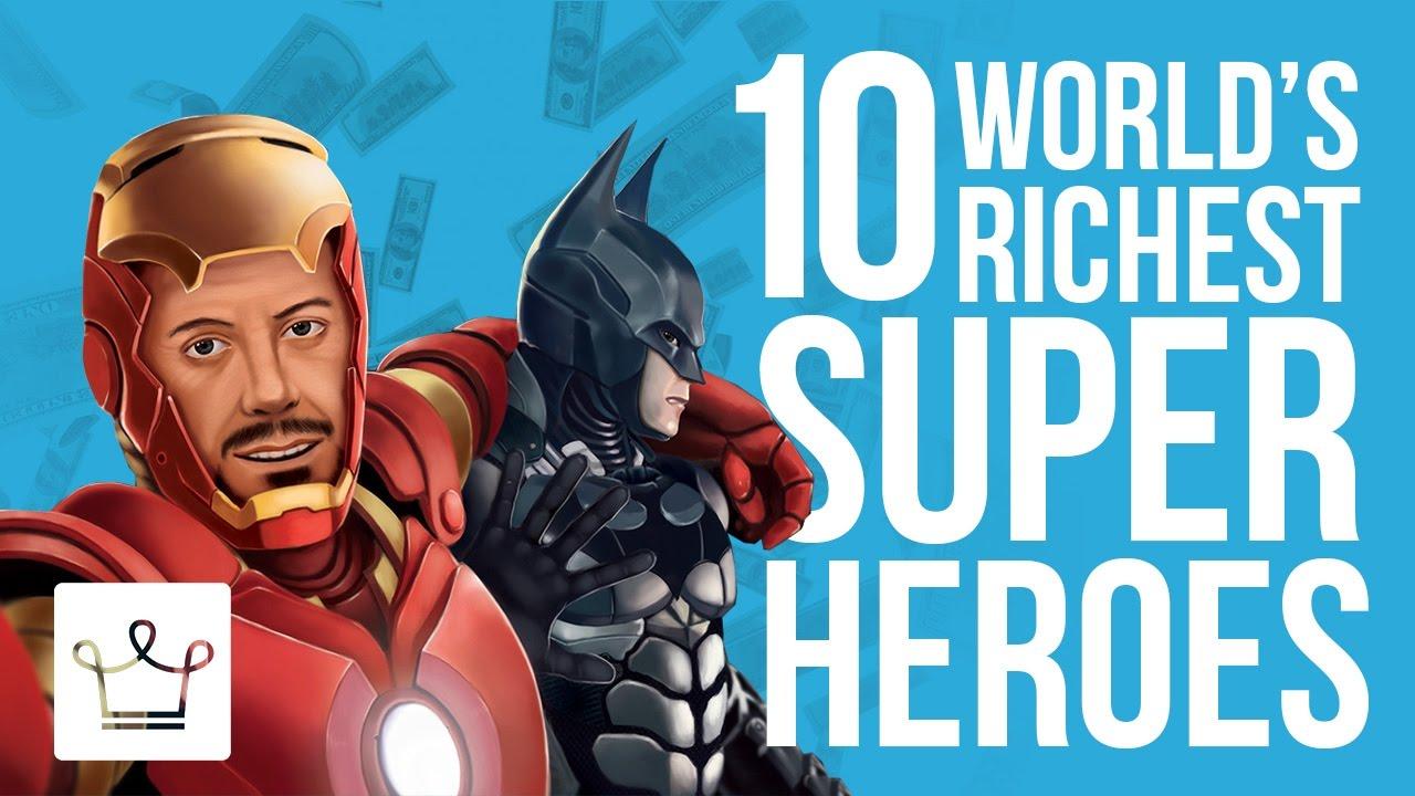 Top 10 Rigeste Superhelte i det Verden Klassificeret - Youtube-3235