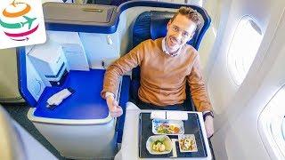 Die ANA Business Class in der 777 von Frankfurt nach Tokio | GlobalTraveler.TV