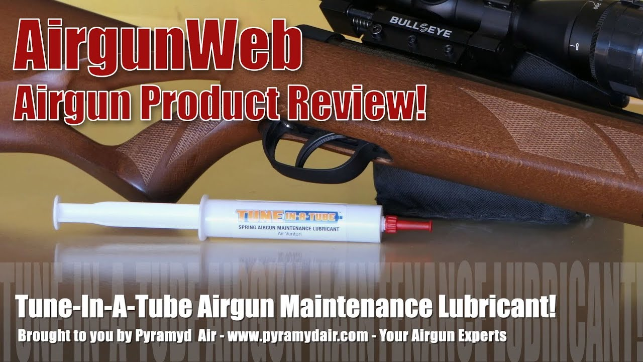Air Venturi Tune-In-A-Tube - Let's make your spring gun SMOOOOOTH - Review  by AirgunWeb