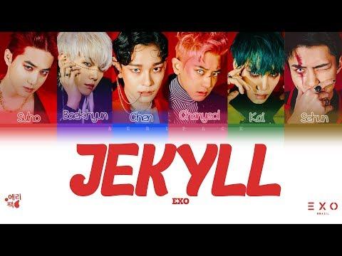 EXO- Jekyll (Tradução Da Letra Codificada Em Cores, Legendado HAN/ROM/PT-BR)