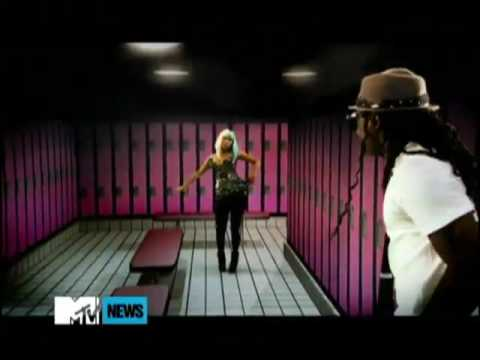 Lil Wayne - Knockout (ft. Nicki Minaj) [Official Music Video] with lyrics