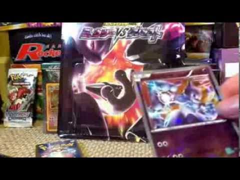 Mewtwo VS Genesect theme deck opening - YouTube
