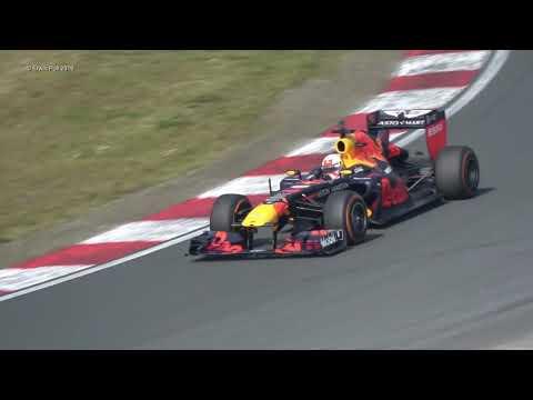 Max Verstappen 33 Formule 1 Demo Red Bull Racing Team Jumbo Racedagen Zandvoort 18-5-2019