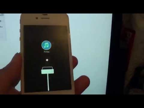 iPhone 4: Fix Stucked on iTunes Logo During Bootup