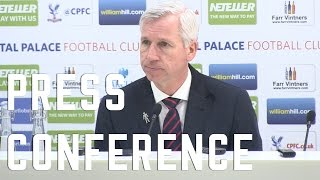 Alan Pardew post Arsenal Press Conference