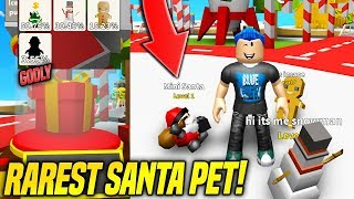 I GOT THE RAREST CHRISTMAS PET IN BILLIONAIRE SIMULATOR PETS UPDATE!! *LEGENDARY* (Roblox)