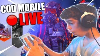 🔴LIVE Call of Duty MOBILE GLOBAL GRIND!!  // Level 150 Maxed Player