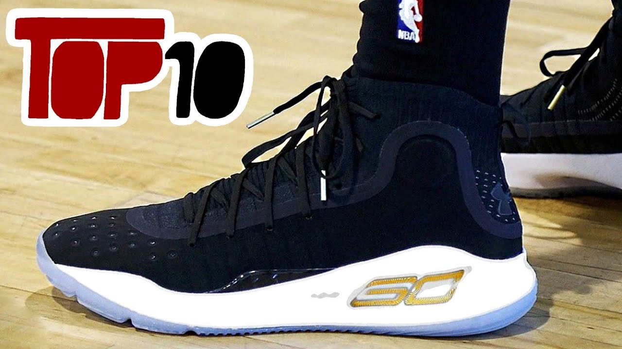 893567af7f27 Top 10 Basketball Shoes In The 2017 NBA Finals - YouTube
