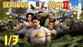 [1/3] Let's Play Serious Sam 2 mit Budi, Nils, Simon, Dennis & Andy   10.01.2017
