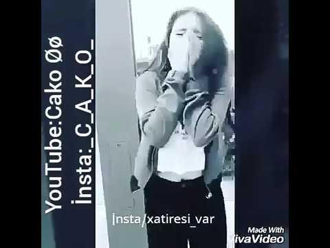 Esger'ini qarşılayan qız (Asker Turk Azeri) Orxan Deniz Men AXI sensiZ  agLamali video