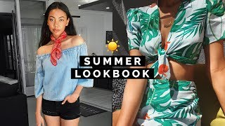 SUMMER LOOKBOOK 2017 ☀️ Summer Outfit Ideas